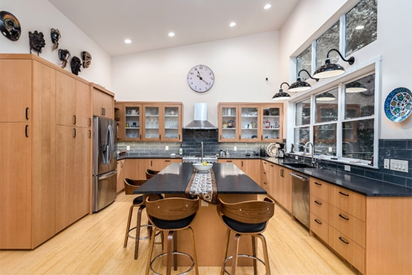 Kitchen layout and design of Project B used for example pricing